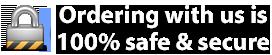 100% Safe & Secure Ordering